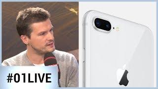 iPhone 8 Plus d'Apple: il nous déçoit sur la photo (01LIVE)