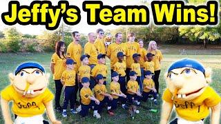 Jeffy's Teeball Team WINS!!!
