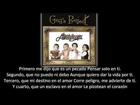 Aventura Angelito lyric letra