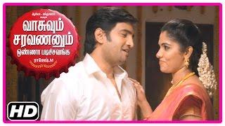 VSOP Tamil Movie   Scenes   Bhanu wants Santhanam to quit Arya's friendship   Karunakaran gives idea