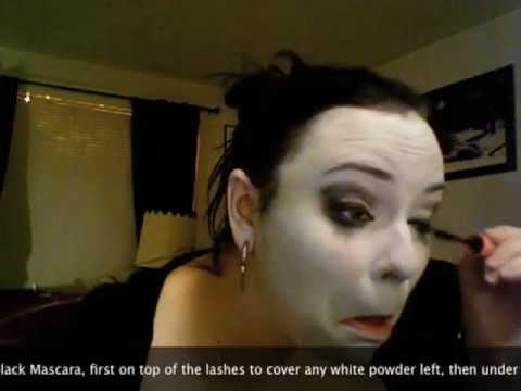 Xxx Mp4 Gothic Pallor Makeup Tutorial Aka White Face 3gp Sex