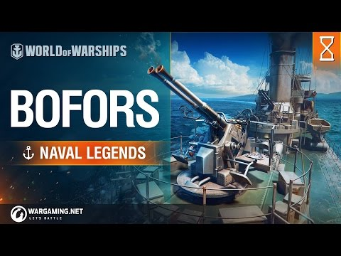 World of Warships Naval Legends Bofors