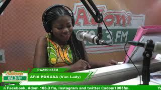 DWASO NEWSPAPER REVIEW - N'APOSO N'APOSO on Adom FM (19-10-18)