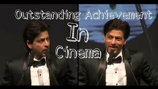 Shah Rukh Khan ( SRK ) wins the Outstanding Achievement in Cinema at Asian Awards - Full Speech - HD