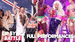 "Jeff Ross' ""Fat Bottomed Girls"" vs. Rob Schneider's ""I Will Survive"" | Lip Sync Battle"