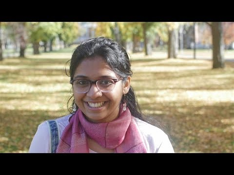 Indian student Aishwarya speaks about her experience at ANU College of Asia & the Pacific