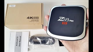 2017 Powerful Z69 PLUS 4K 64GB Android TV Box