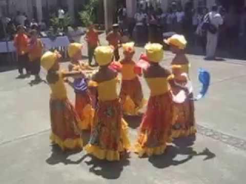baile calipso niños yniñas escuela lider los corales limon