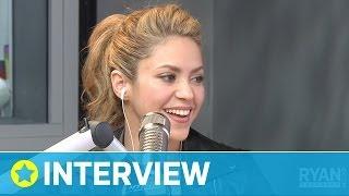 Shakira's Bond with Rihanna I Interview I On Air with Ryan Seacrest