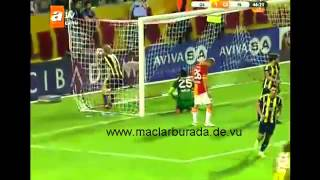 Galatasaray 3-2 Fenerbahce  Geniş Özet 12 Ağustos 2012 (süper kupa)