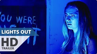 LIGHTS OUT All Trailer + Clips (Teresa Palmer Horror Movie - 2016)