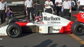 最強F1再び!!! Marlboro McLaren HONDA MP4/5 マクラーレンホンダ Strongest F-1