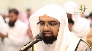 دعاء باكي من الليلة الثالثة من ليالي رمضان 1438 الشيخ ناصر القطامي