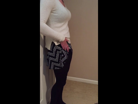 Busty Teen Crossdresser Gets Naughty In Skirt and Tights