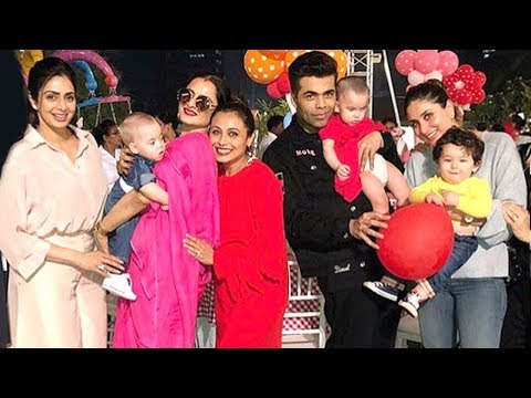 Xxx Mp4 Rani Mukherjee S Daughter Adira S 2nd Birthday Party 2017 Taimur Kareena SRK Abram 3gp Sex