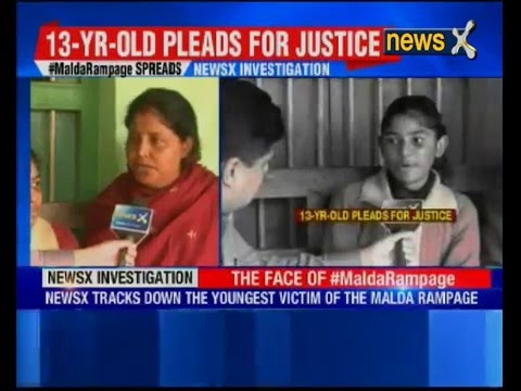 Malda Rampage: 13-year-old girl attacked with bricks and stones by irate mob