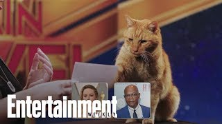 Captain Marvel's Cat 'Goose': A Purrfect Interview | Entertainment Weekly