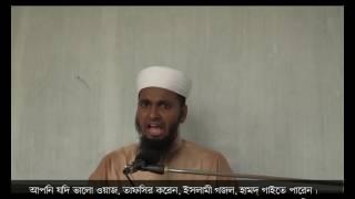 Bangla waz 2016 রমজানের গুরুত্ব hafez mawlana Imran Husain