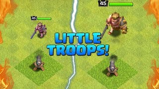 How To Get Small Clash of Clans Troops! NEW SHRINK TRAP GAMEPLAY - CoC Clashiversary Update Defense
