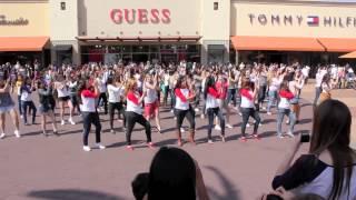 1D Flash Mob LA OFFICIAL