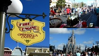 Disney World Vlogs 2016 Day 2 Part 1We're Driving Right Down The Middle Of Main St USA