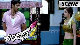 Manchu Manoj And Sheena Superb Comedy Scene - Bindaas Movie Scenes