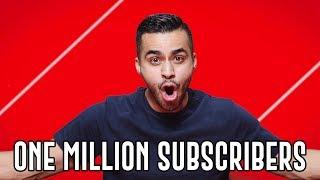 ONE MILLION SUBSCRIBERS | David Lopez