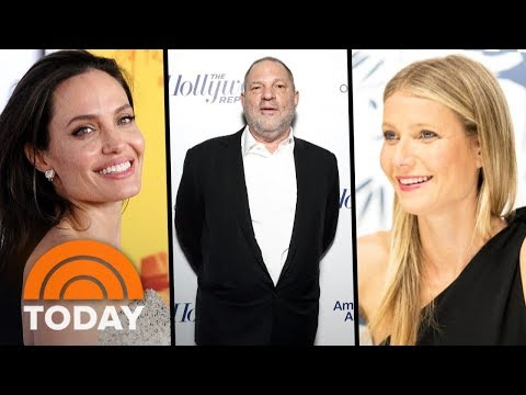 Harvey Weinstein Sex Scandal: Gwyneth Paltrow And Angelina Jolie Speak Out   TODAY