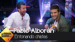 Pablo Alborán canta los peores chistes de la historia - El Hormiguero 3.0