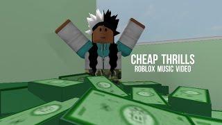 Cheap Thrills | ROBLOX Music Video ♡