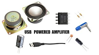 how to make a amplifier (USB system)