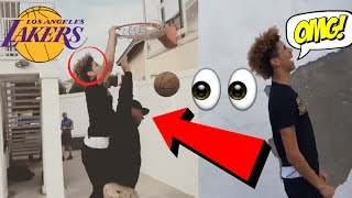 LaVar Ball Gets DUNKED On By His Son LaMelo Ball?!   BALL FAMILY FUNNY MOMENTS 2017