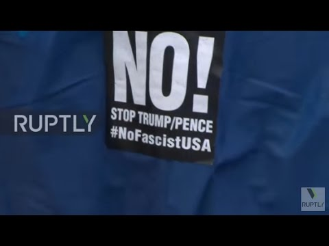 USA: Protesters rally against Trump's 'fascist regime'