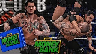 WWE 2K17 Money in the Bank 2017 - Baron Corbin Cashes Money in the Bank and Wins WWE Championship!