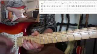 Coldplay - Adventure of a Lifetime Guitar lesson With TABS! (full song)