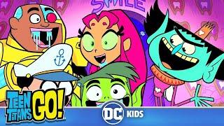 Teen Titans Go! | Tooth Fairy Crunch! | DC Kids