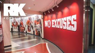 We Toured Alabama's MASSIVE Football Facility & Sneaker Equipment Room   Royal Key