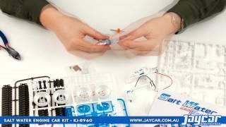 Salt Water Fuel Cell Engine Car Kit by Jaycar