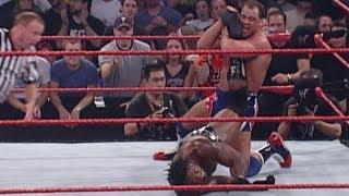 FULL-LENGTH MATCH - Raw - Booker T vs. Kurt Angle - World Heavyweight Championship