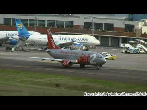 LPMA • Busy Monday Morning • Various landings and take offs • Madeira