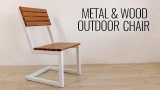 DIY Modern Outdoor Chair Build
