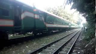 Khulna bound Sundarban Express.