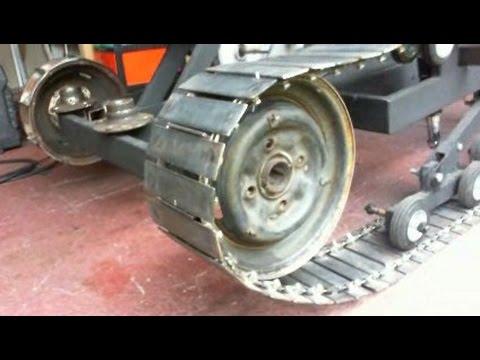 How to build homemade tank tracks Part 9