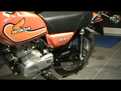 Monkey Power Berlin.deHonda XL 50 mit 68 km .MPG