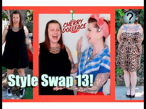 Style Swap 13: Laid Back Street Style to Vintage Sex Pot! by CHERRY  DOLLFACE