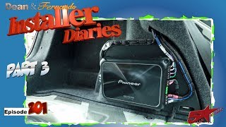 VW Jetta Audio System Gets The Amp And Radio Installer Diaries 201 Part 3