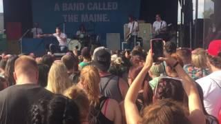 THE MAINE Vans Warped Tour 2016 Darien Center