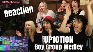 [Reaction] UP10TION Boy Group Medley @ 500th Music Core