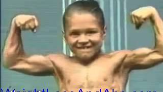 6 Year Old Boy Gets 8 Pack Not Six Pack Abs