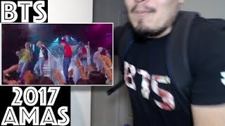 BTS DNA AMAs Performance Live 2017 American Music Awards Reaction